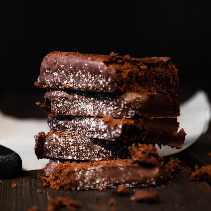 Brownies de Avena SaSa y Chocolate